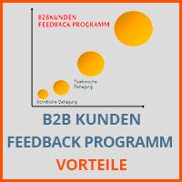 B2B KUNDEN FEEDBACK PROGRAMM - Vorteile