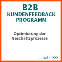B2B Kundenfeedback - Optimierung der Geschäftprozesse.