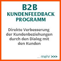 B2B Kundenfeedback - Direkte Verbesserung fer Kundenbeziehungen durch den Dialog mit den Kunden